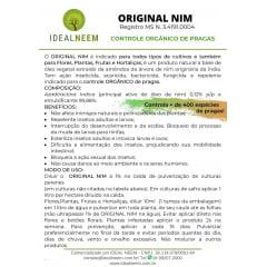 Original Nim (ÓLEO DE NIM) - KIT c/ 2 LITROS