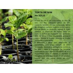 TORTA VEGETAL DE NIM ORGÂNICA - USO AGRÍCOLA 1KG